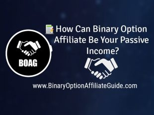 How Can Binary Option Affiliate Be Your Passive Income?
