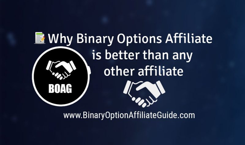 Why Binary Options Affiliate is better than any other affiliate marketing